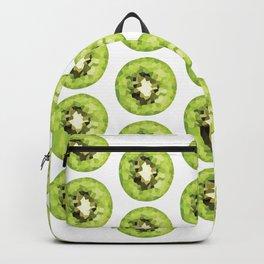 kiwi pattern, fill, repeating, tiled | elegant Backpack
