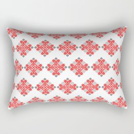 Rodimich - Antlers - Slavic Symbol #3 Rectangular Pillow