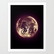 E.T.B. (variant 3) Art Print