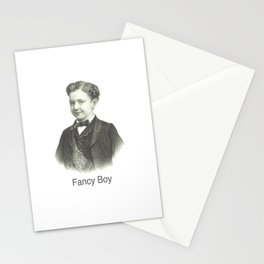 Fancy Boy Stationery Cards