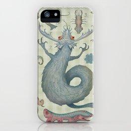 Marine Curiosities II iPhone Case