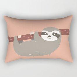 Sloth card - hello beautiful Rectangular Pillow