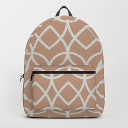 Sand Storm Beige Ultra Pale Gray Teardrop Pattern 2021 Color of the Year Canyon Dusk Tinsmith Backpack