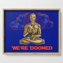 We're Doomed Serving Tray