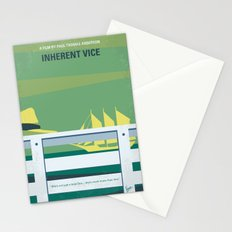 No793 My Inherent Vice minimal movie poster Stationery Cards
