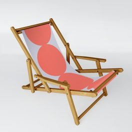 Gradual Living Coral Sling Chair