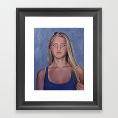 Taylor Framed Art Print