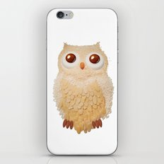Owl Collage #5 iPhone & iPod Skin