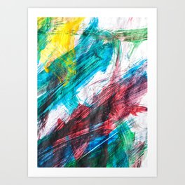 Summer's Colors Art Print