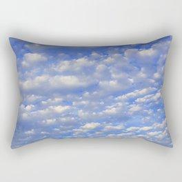 Lots of tiny clouds. Rectangular Pillow