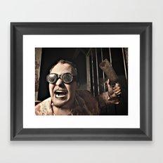 Dr. Cleaver Framed Art Print