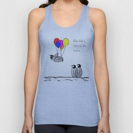 To be a Flying Penguin Unisex Tanktop