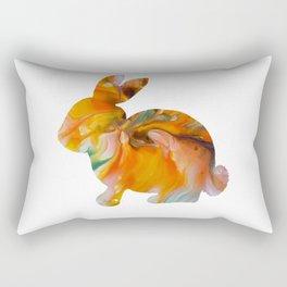 Pour Bunny Rectangular Pillow