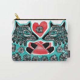 And they called it, Wolf puppy love Carry-All Pouch