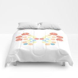 Vivillon Ocean Form Comforters