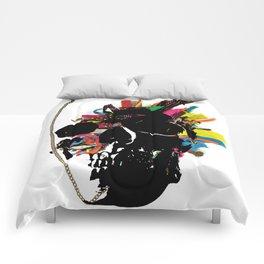 skull necklace Comforters