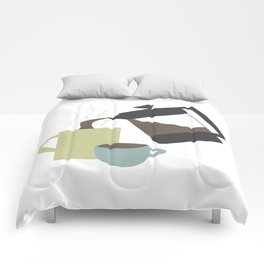 Coffee (French Press) Comforters