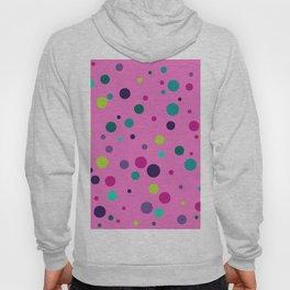 Seamless pattern with color circles. Polka dot. Hoody