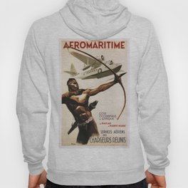 Vintage poster - Aeromaritime Hoody