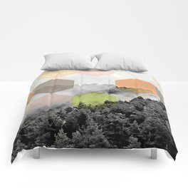 Explained Dimensionality V2 #society6 Comforters