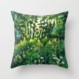 Sherwood Fields Sunset Throw Pillow