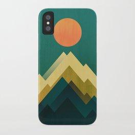 Gold Peak iPhone Case
