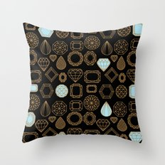 Gems #3 Throw Pillow