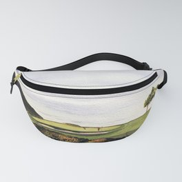 Torrey Pines South Golf Course Hole 3 Fanny Pack