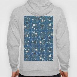 Blue tech Hoody