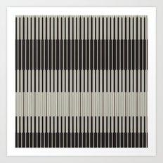 Piano Man | Abstract Pattern Art Print