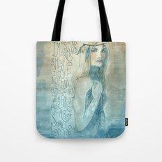 I must be a mermaid Tote Bag