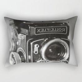 Rolleiflex Camera Tintype Rectangular Pillow