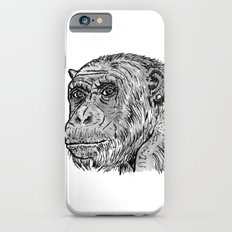 Chimp with a Pearl Earring iPhone 6s Slim Case
