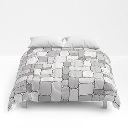 Stone Wall #4 - Grays Comforters