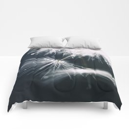 dandelion white Comforters