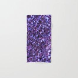 Abalone Shell | Paua Shell | Violet Tint Hand & Bath Towel