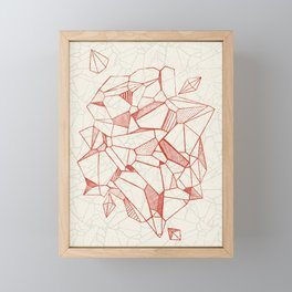 ABSTRACT POLY 1- Gem Framed Mini Art Print