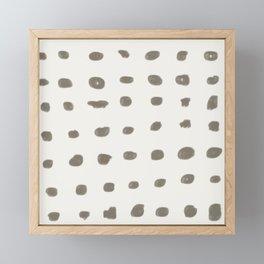 Footprint Framed Mini Art Print