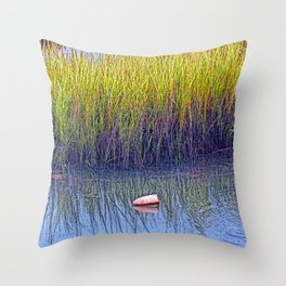 Tidal Creek Solitude Throw Pillow