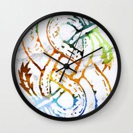 Loki's Serpents Wall Clock