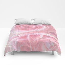 Tender Roses in Spring Comforters
