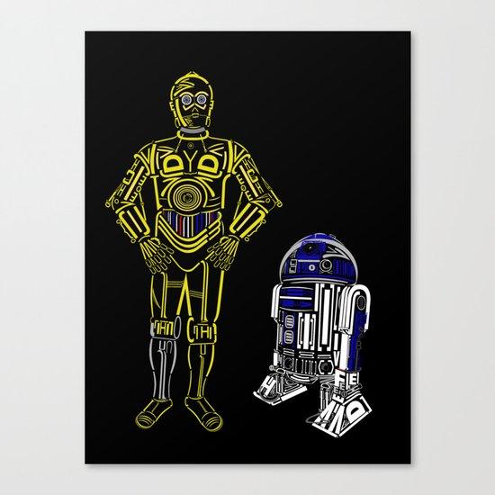 C3TYPO and R2TYPO Canvas Print