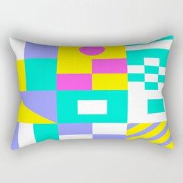 Sea Society (dark) Rectangular Pillow