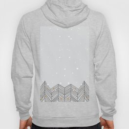 Winter Trees and Snow Hoody