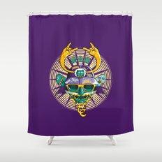 Urban Samurai Shower Curtain