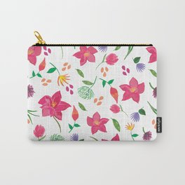 Tropical themed pattern Carry-All Pouch