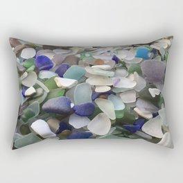 Sea Glass Assortment 5 Rectangular Pillow
