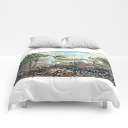 Battle of Cold Harbor -- Civil War Comforters
