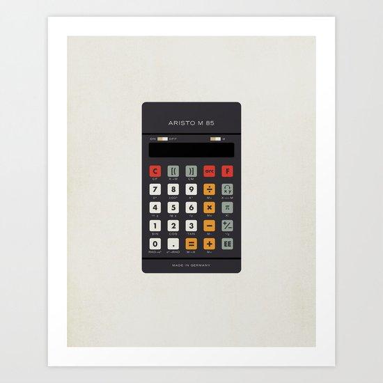 "Vintage Calculator Series: ""Aristo M 85"" Art Print"
