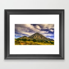 Somewhere in Mexico Framed Art Print